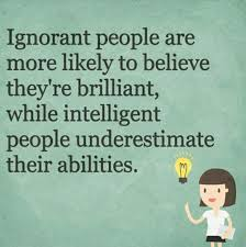 intelligence vs ignorance
