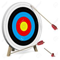 23908178-arrows-do-not-hit-the-target