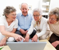 Image result for old people learning how to use the computer funny