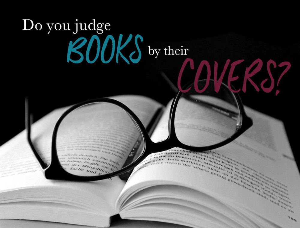 Image result for we do judge books by their covers