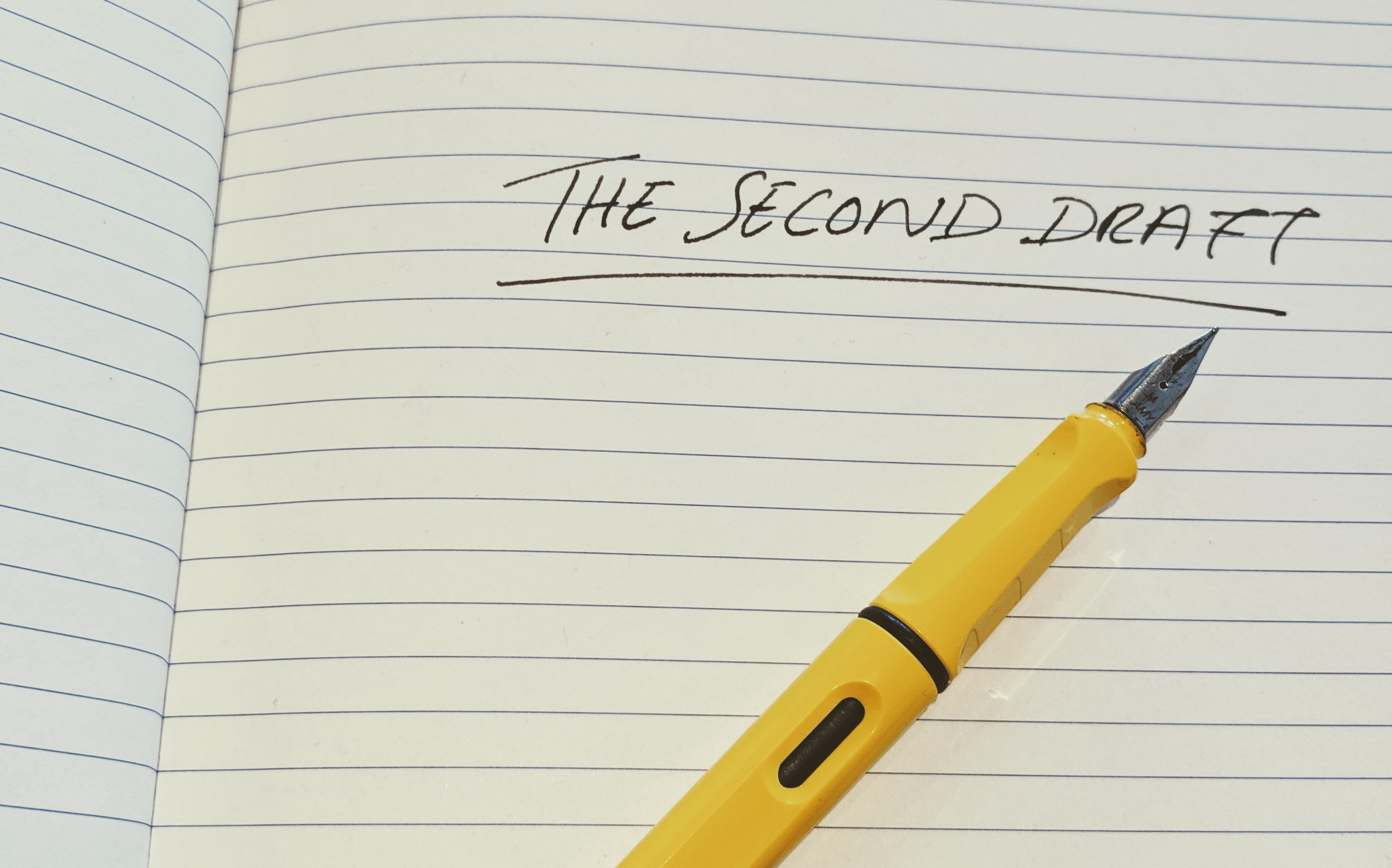 How To Approach The Second Draft Of Your Novel - The Writing ...